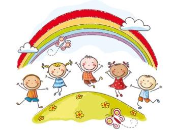 immagine logo - bambini e arcobaleno
