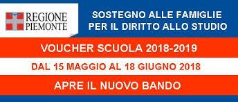 immagine per voucher anno scolastico 2019/2020