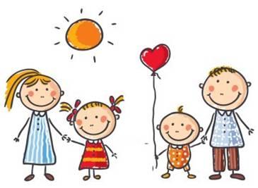 immagine logo - famiglia stilizzata