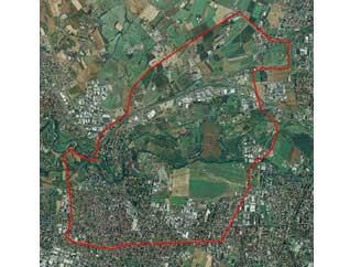 immagine mappa collegno